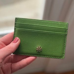 Tory Burch - Robinson Card Case in Green